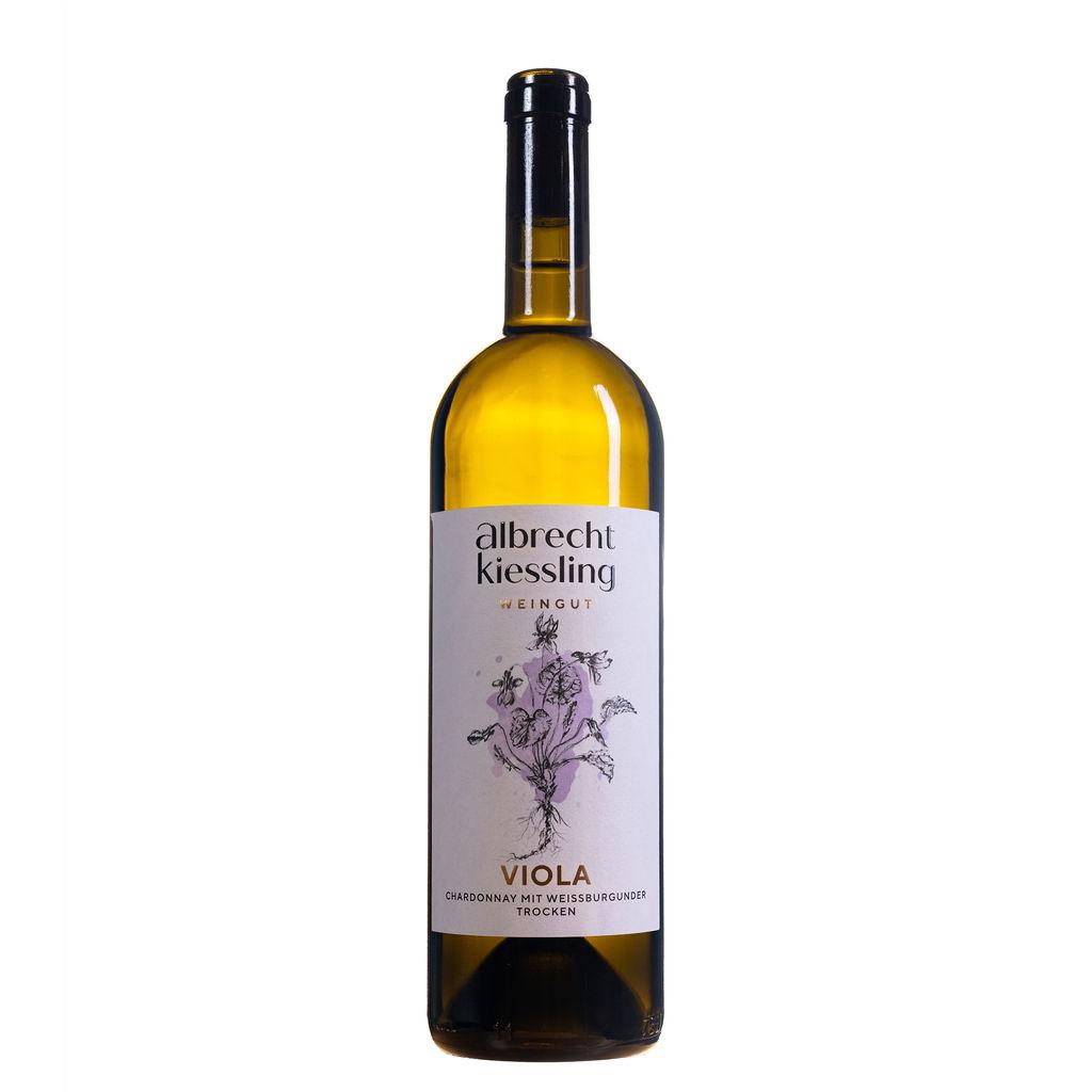 VIOLA Chardonnay mit Weißburgunder trocken
