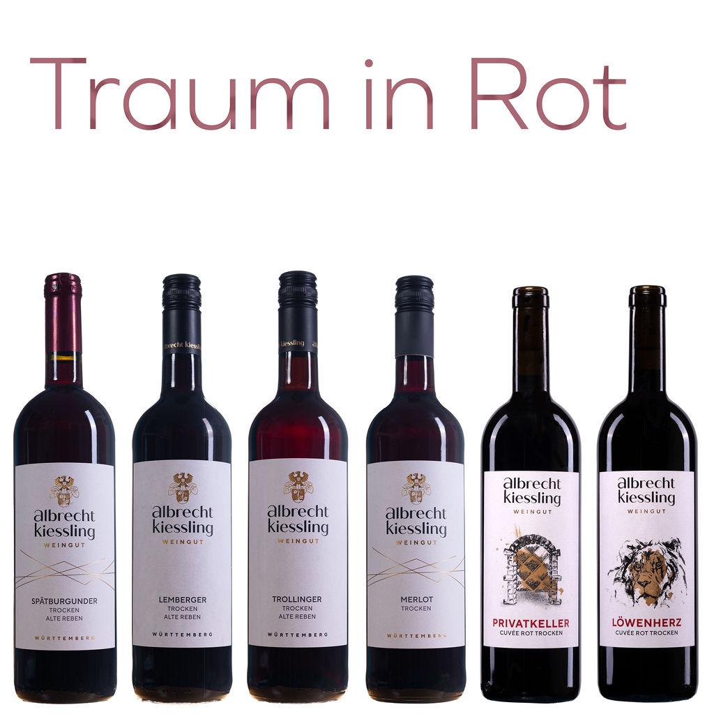 Probierpaket - Traum in Rot #Rotweinliebe