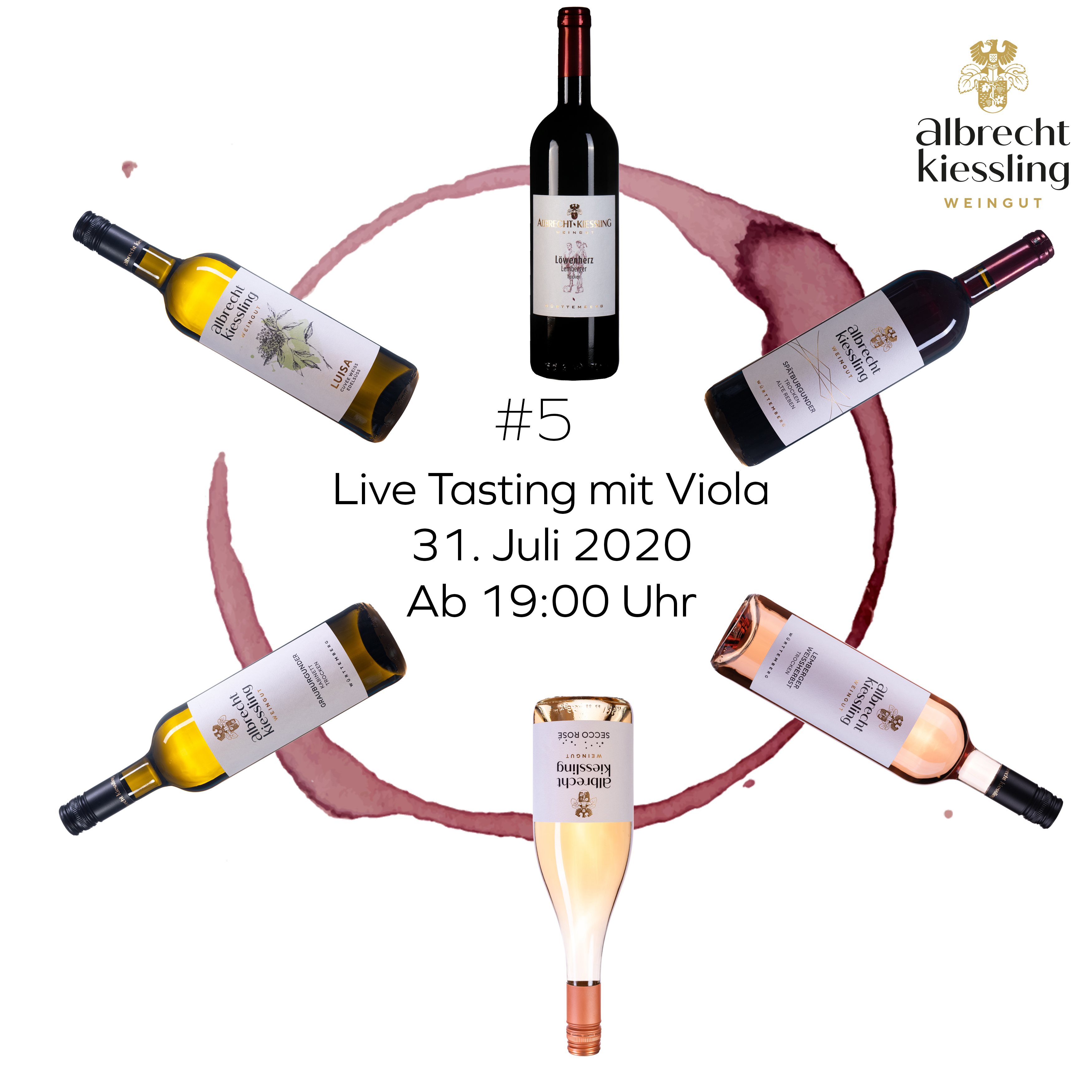 Live-Tasting mit Viola #5
