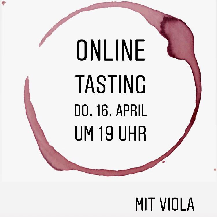 Live-Tasting mit Viola #1