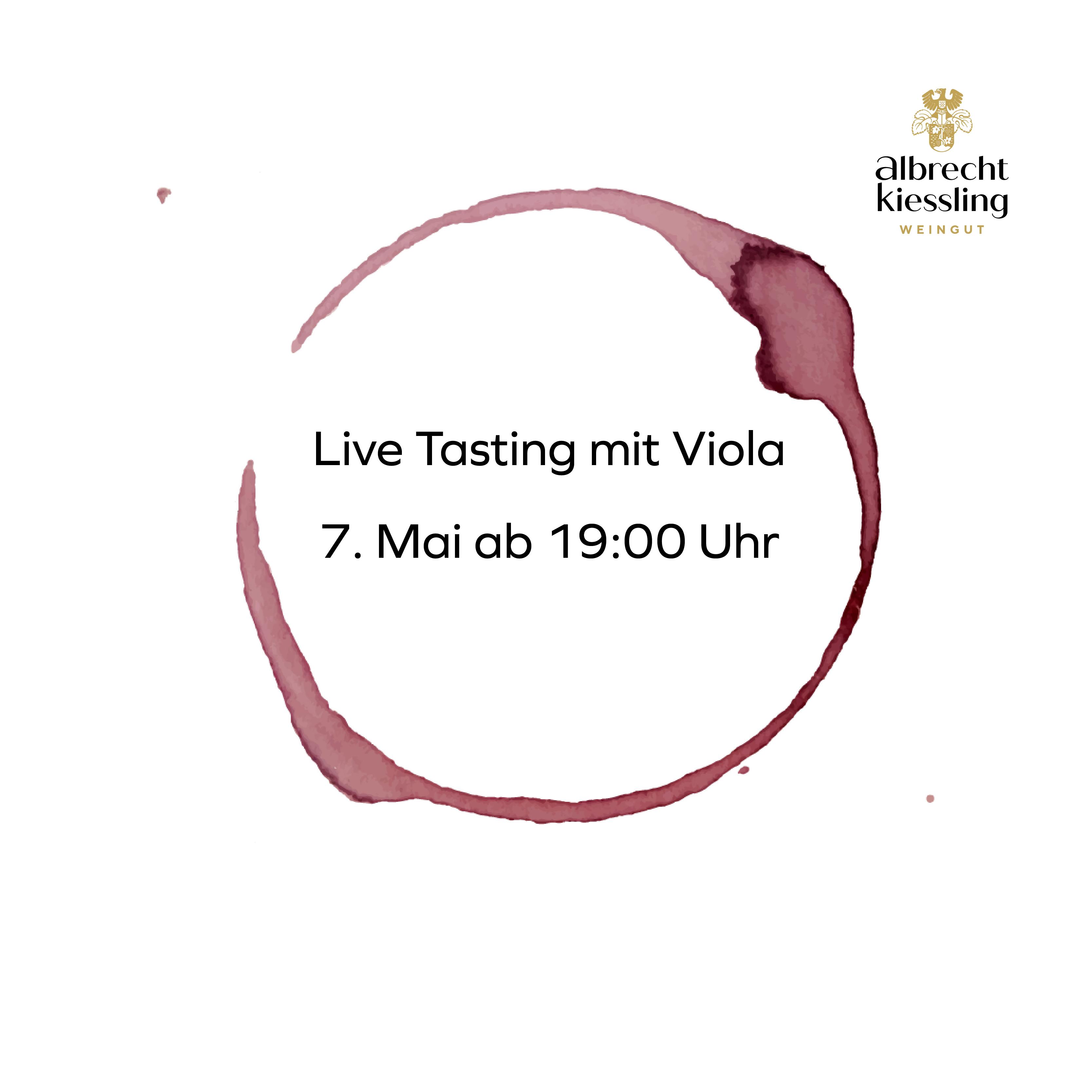 Live-Tasting mit Viola #2