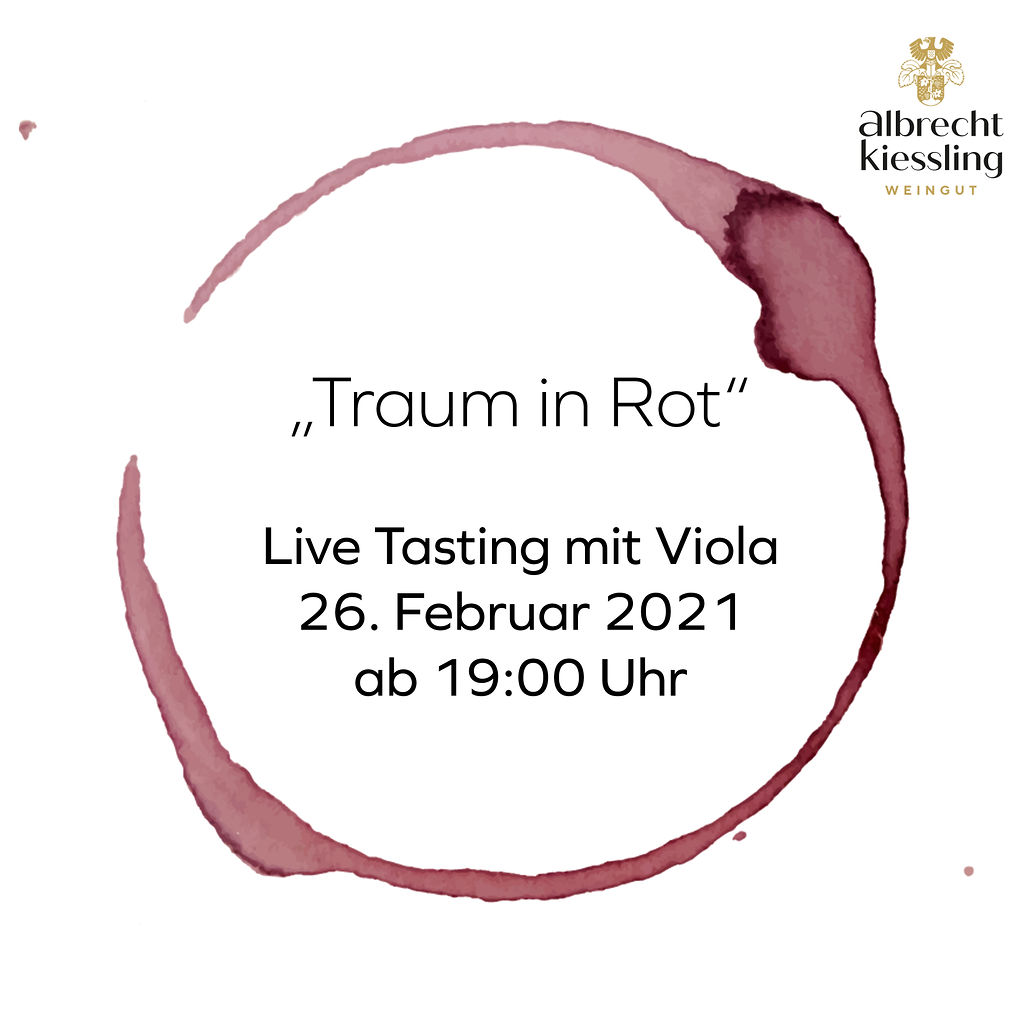 Live-Tasting mit Viola - Traum in Rot
